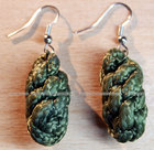 "Earrings ""A bunch of grapes"""