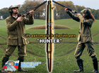 "Gift automatic ball pen from original rifle cartridge ""HUNTER"" v2"