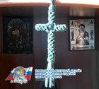 Крест из паракорда 5,5x10 см