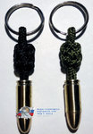 Keychain from paracord for keys - Limited Edition - Parabellum 9x19 mm 1942-1943