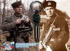 Брелок из паракорда для ключей - Парабеллум 9x19 мм 1942-1943