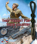 Keychain from paracord for keys - Limited Edition - THEY FOUGHT FOR THEIR COUNTRY