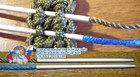 2 Иглы для плетения микро и нано паракордом - набор № 11