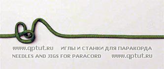 Блок-схема для плетения узла «Звенья китайской цепи»