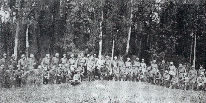 Генерал H.H. Юденич в Ливенской дивизии