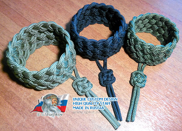 Bracelet amulet - Sign of Fate - Classic Military Style